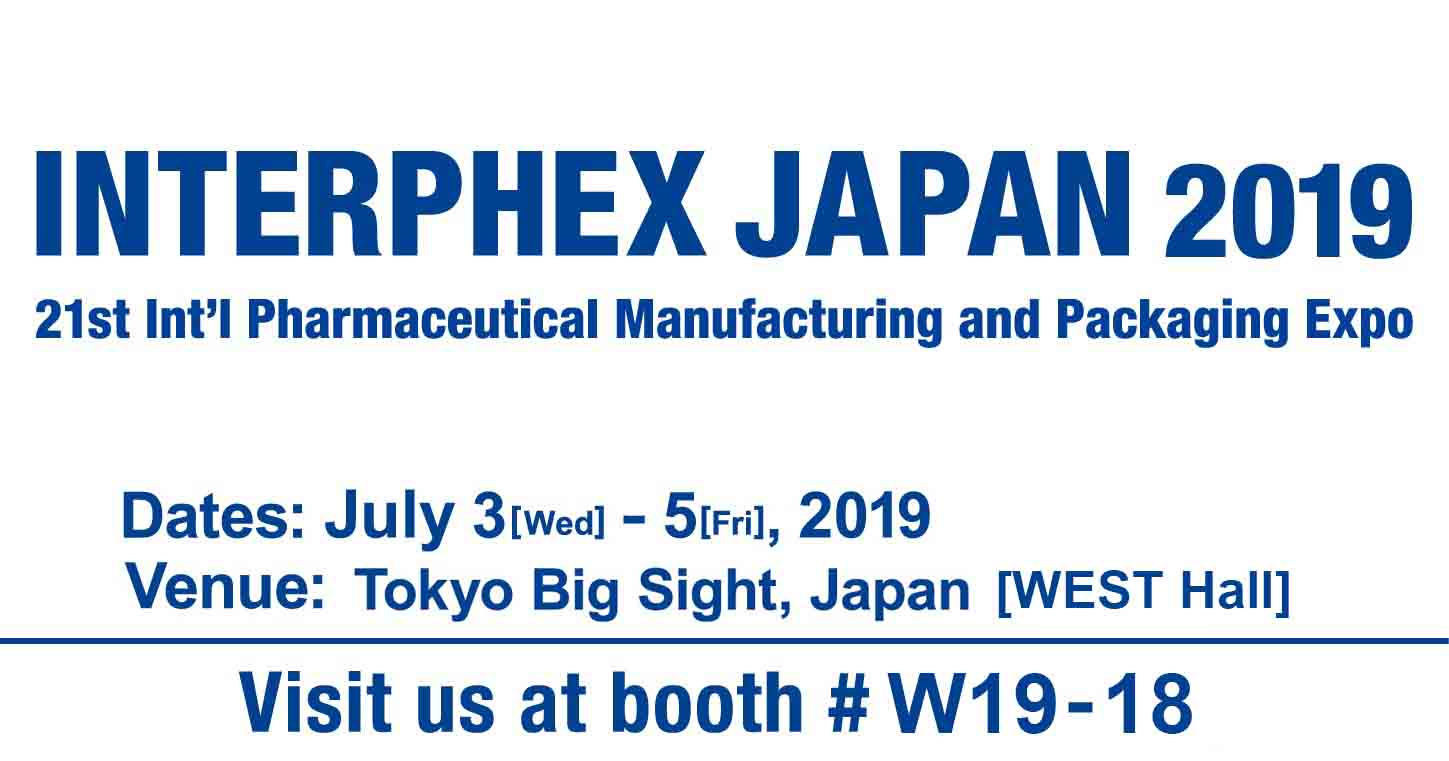 INTERPHEX JAPAN 2019 Exhibition NEWS